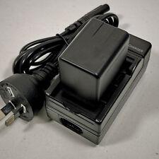 Mains Charger 3900mah Battery for Panasonic Vw-vbt380 Vbt380 Vw-vbt190 Vw-bc10e