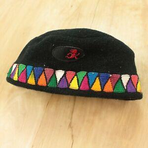 vintage usa made Shred Alert fleece hat beanie 90s one size