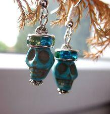 Mode-Ohrschmuck im Hänger-Stil aus Stein mit Cabochon-Schliffform