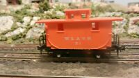 AHM Rivarossi Vintage HO Old Time Western & Atlantic Caboose,  Upgrade, Exc.