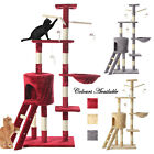 Large Multilevel Cat Tree Scratching Activity Centre Post Kitten Climbing Tower