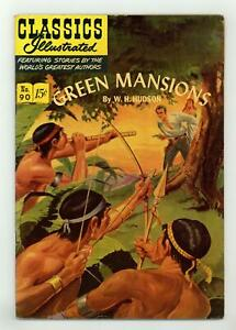 Classics Illustrated 090 Green Mansions #1 VG/FN 5.0 1951