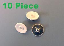 x 10 Romix 57167 OPEL,FORD laterale,STEMMA,GUARNIZIONE CLIPS DI FISSAGGIO