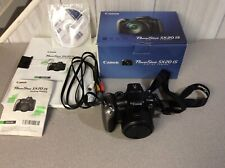 Canon PowerShot SX20 IS 12.1MP Digital Camera - Black excellent condition.