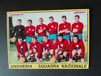 FIGURINA CALCIATORI PANINI 1966/67 SQUADRA UNGHERIA OTTIMA MAI ATTACCATA