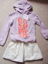 Vêtements violets coton mélangé pour fille de 2 à 16 ans