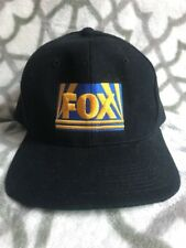 Vintage 1990's Fox Network Hat  Embroidered SnapBack Frontier Cap