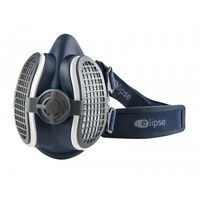 ELIPSE TWIN HALF MASK P3 DUST FUME RESPIRATOR WITH REPLACEABLE FILTERS