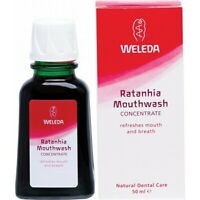 Weleda Mouthwash Concentrate Ratanhia 50ml Skin Care