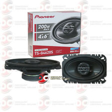 PIONEER TS-G4620S 4 x 6-INCH CAR AUDIO COAXIAL 2-WAY SPEAKERS PAIR