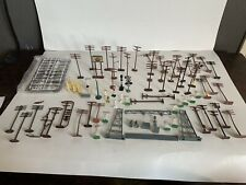 B1 Bachmann Ho Scale Model Trains Train Scenery Lot Telephone Poles Signs