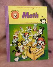 Animaniacs Math Book Grade 1 Warner Bros 1999