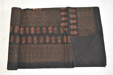 Cotton Floral Block Printed Bedspreads King Queen Full  Natural Dye Sheets