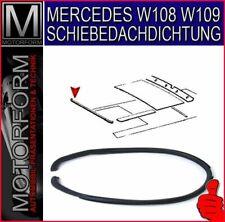 Mercedes W108 W109 Schiebedachdichtung  Gummi vorne Schiebedachgummi W123 W115