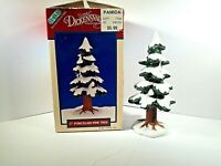 "DEPT 56 LEMAX SNOWED PINE TREE 7""-T DICKENVILLE VILLAGE COLLECTION 1995 RETIRED"