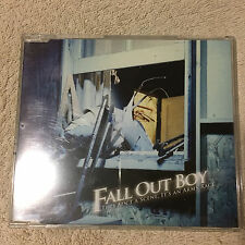 Fall Out Boy - This Ain't A Scene, It's An Arms Race CD Single _Very Good.