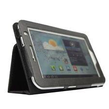 Noir Housse en cuir pour Samsung Galaxy Tab 2 P3100 / P3110 de 7 pouces O3F2