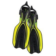 Oceanic Manta Ray Fins Fin Open Heel All Sizes Scuba Snorkeling Yellow