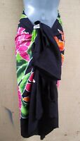 Sarong Hand Painted Bali Tropical Ginger Pareo Dress Skirt  Beach Cover Up Wrap
