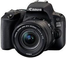 Canon EOS 200D Gehäuse inkl. EF-S 18-55 mm IS STM digitale Spiegelreflexkamera