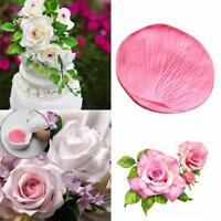 Rose Petal Sugarcraft Veiner Mould Sugar Cupcake Cake Chocolate Decorating