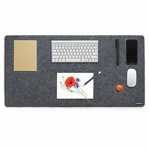 Lucky Sign - Schreibtischunterlage Filz mit Anti Rutsch Beschichtung, 40x80cm