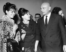 Yul Brynner, Claudia Cardinale and Leslie Caron UNSIGNED photo - K9064