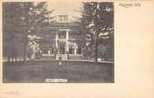 Rome New York Jervis Library Entrance View Antique Postcard K17112