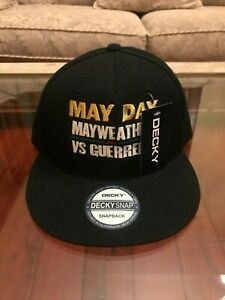 """NEW Floyd Mayweather Jr. vs. Robert Guerrero Snapback """"May Day"""" May 4, 2013"""