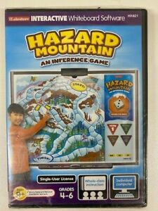 Lakeshore Interactive Whiteboard Software HH821 Hazard Mountain Inference Game