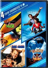 NEW DVD - THE MASK + DUMB & DUMBER + YES MAN + THE MAJESTIC - JIM CARREY 4MOVIES