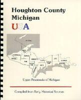 MI Houghton County RP 1883 History of the Upper Peninsula of Michigan Hancock