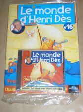 RARE CD + MAGAZINE / LE MONDE D'HENRI DES N° 16 / OHE LE BATEAU / NEUF CELLO