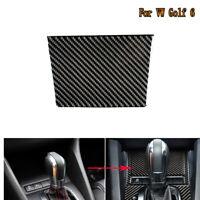 Carbon Fiber Central Ashtray Cover Decortive Trim For VW Scirocco Glof 6 2009-16
