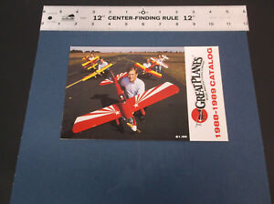 COLLECTIBLE 1988-89 GREAT PLANES R/C MODEL PLANE & ACCESSORIES CATALOG *G-COND*