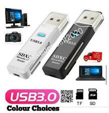 More details for usb 3.0 sd memory card reader high speed sdhc sdxc mmc micro sd mobile t-flash