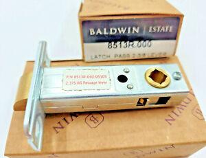 """Baldwin 8513-040-05105 8513R Passage Lever Latch Bolt Images 2-3/8"""" 2.375 BS"""