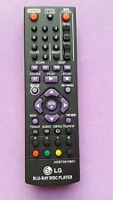 Replacement LG Blu-ray Disc Player Remote Control - BP320/BP220/BP200/BP325W