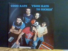 GOOD RATS  From Rats To Riches   LP      Lovely copy   RARE !!