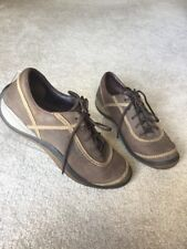 MERRELL Cypress Chocolate Leather Lace Up Women Walking Hiking Shoes Oxfords 9.5