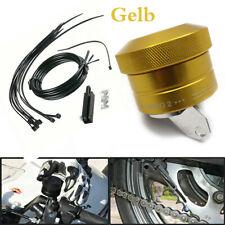 Universal Automatischer Motorrad Kettenöler Motorcycle Chain Oiler Kit (Gold)