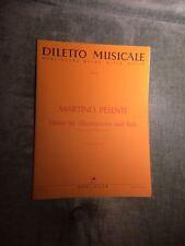 Martino Pesenti Danses Tanze pour voix aigue basse partition éditions Doblinger