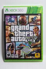 Grand Theft Auto V 5 ( Microsoft Xbox 360, 2013) *Brand New Sealed*
