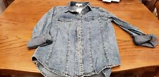 NWT Small Fitted Jeans Shirt