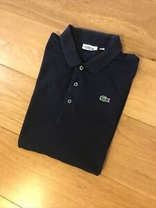 Lacoste Sport Navy Mens Short Sleeve Polo Size 7 Or UK XXL