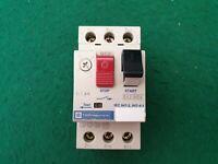 Telemecanique GV2-M06 Motor Circuit Breaker 1 - 1.6 Amp