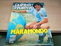 GUERIN SPORTIVO=N°27 1986=MARAMONDO=IL FILM DEL MUNDIAL MEXICO 86 48 PAGINE