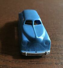 VINTAGE PLASTIC RENWAL 143 Toy Car Blue