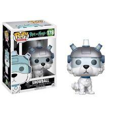 Funko POP ! 178 Snowball - Rick and Morty Netflix NEW !!!! Animation