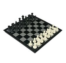 """14"""" Travel Magnetic Folding Chess and Checkers Game Set -- FREE SHIPPING!"""